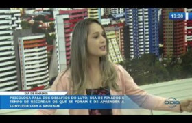 O DIA NEWS (01.11.19) Taciana Soares (psicóloga) - Dia de finados