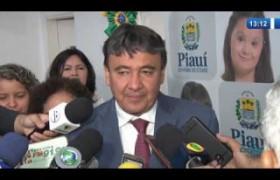 O DIA NEWS (01.11.19) Wellington Dias reassume o Governo do Estado