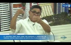 O DIA NEWS (05.11) Cícero Magalhães (Dir. Municipal PT) - Eleições 2020