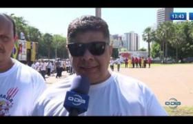 O DIA NEWS 07.11  Manifestação de policiais e bombeiros militares
