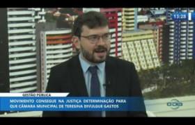 O DIA NEWS 11.11.2019  André Portela (criador do Movimento Custo Piauí) - Gestão Pública