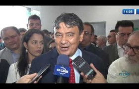 O DIA NEWS 11.11.2019  Gov. Wellington Dias avalia seu encontro com Lula