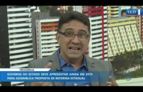 O DIA NEWS 19 11 2019  Marcos Steiner (Superint. Gestão de Prev. Complementar-PI) - Previdência