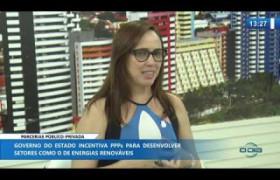 O DIA NEWS 19 11 2019  Viviane Moura (Superintendente SUPARC) - Parcerias público privadas