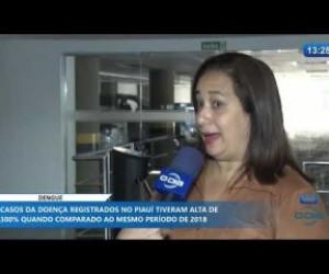 TV O Dia - O DIA NEWS 21 11 2019 Dengue: casos da doença tiveram alta de 300% no Piauí