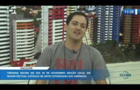O DIA NEWS 22 11 2019  Felipe Diniz (responsável local Shalom Teresina) - Halleluya