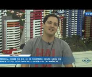 TV O Dia - O DIA NEWS 22 11 2019 Felipe Diniz (responsável local Shalom Teresina) - Halleluya