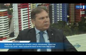 O DIA NEWS 27 11 2019  Jailson Campelo (Conselheiro substituto TCE/PI) -