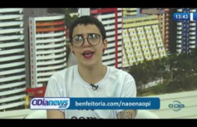 O DIA NEWS 29 11 2019  Luana Sena (integrante do movimento