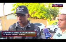 ROTA DO DIA 06.11  Menores fazem arrastão em ônibus no Parque Brasil