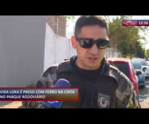 TV O Dia - ROTA DO DIA 12.11.2019 Homem armado é preso no Parque Rodoviário