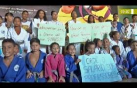 BOM DIA NEWS 03 12 2019  Manifestação contra atraso de salários do CT Sarah Menezes