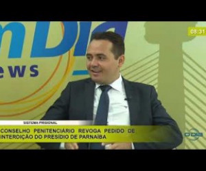 TV O Dia - BOM DIA NEWS 09 12 2019  Del. Charles Pessoa (Dir. Inteligência da SEJUS) - Sistema prisional