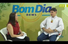 BOM DIA NEWS 12 12 2019  Marcelo Dias (Del. combate à entorpecentes) - Apreensão de drogas