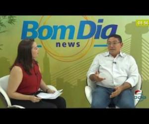 TV O Dia - BOM DIA NEWS 12 12 2019  Sérgio Bandeira (Vice-pres. Estadual - Podemos) - Eleições 2020