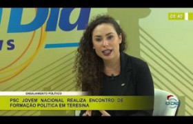 BOM DIA NEWS 13 12 2019  Jéssica Ohanna (Pres. Nac. PSC Jovem) - Engajamento político