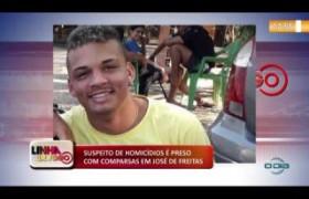 LINHA DE FOGO (03 12) SUSPEITO DE HOMICÍDIOS É PRESO COM COMPARSAS EM JOSÉ DE FREITAS