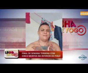 TV O Dia - LINHA DE FOGO (09 12)  FINAL DE SEMANA TERMINA COM CINCO MORTOS NO INTERIOR DO PIAUÍ