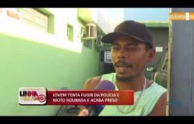 LINHA DE FOGO (09 12) HOMEM É PRESO COM DROGAS E MINI-BALANÇA EM TERESINA