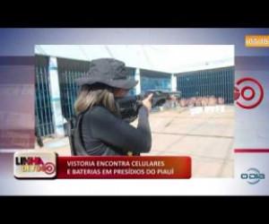 TV O Dia - LINHA DE FOGO (10 12) VISTORIA ENCONTRA CELULARES E BATERIAS EM PRESÍDIOS DO PIAUÍ