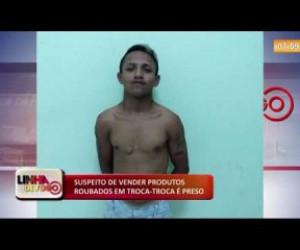 TV O Dia - LINHA DE FOGO (13 12) SUSPEITO DE VENDER PRODUTOS ROUBADOS EM TROCA-TROCA É PRESO