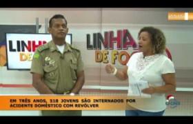 LINHA DE FOGO (30 12) EM TRÊS ANOS, 518 JOVENS SÃO INTERNADOS POR ACIDENTE DOMÉSTICO COM REVÓLVE