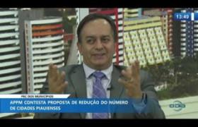 O DIA NEWS 03 12 2019  Valmir Falcão (Assessor Jurídico APPM) - PEC dos municípios