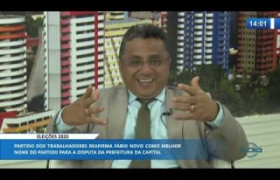O DIA NEWS 04 12 2019  Dudu (Ver. Teresina - PT) - Eleições 2020