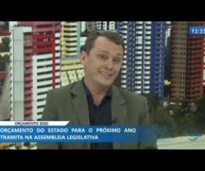 TV O Dia - O DIA NEWS 04 12 2019 Vagner Ximenez (Dir. Orçamento SEPLAN) - Orçamento 2020
