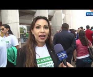 TV O Dia - O DIA NEWS 09 12 2019  Protesto contra a reforma da previdência dos servidores estaduais