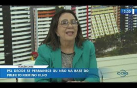 O DIA NEWS 10 12 2019  Teresinha Medeiros (Vereadora PSL) - Eleições 2020
