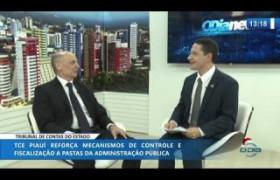 O DIA NEWS 12 12 2019  Abelardo Vilanova (Pres. TCE-PI) - Tribunal de Contas do Estado