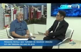 O DIA NEWS 16.12.2019  Enéas Barros (Coord. Turismo SEMDEC) - Turismo de negócio cresce 52%