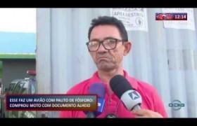 ROTA DO DIA 06 12 2019  Mototaxista preso suspeito de comprar moto com documento alheio