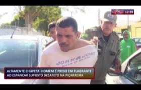 ROTA DO DIA 09 12 2019  Homem preso em flagrante ao espancar suposto desafeto