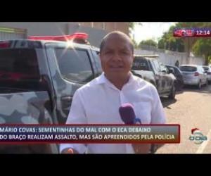 TV O Dia - ROTA DO DIA 11 12 2019 Menores armados são apreendidos no Mário Covas