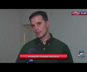 TV O Dia - ROTA DO DIA 12 12 2019 Matheus Zanatta (Delegado DEPRE) - Operação Péssimo Negócio