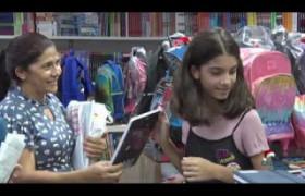 BOM DIA NEWS 02 01 2020  Pais antecipam as compras do material escolar
