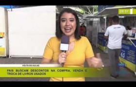 BOM DIA NEWS 03 01 2020  Feira de livros usados em Teresina