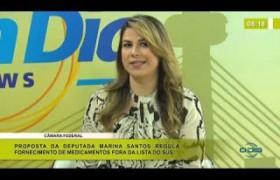 BOM DIA NEWS 07 01 2020  Marina Santos (Dep. Federal - Solidariedade) - Câmara Federal