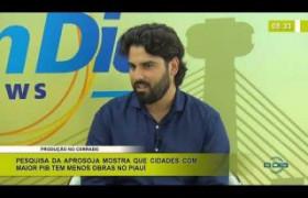 BOM DIA NEWS 09 01 2020  Alzir Neto Pres  da APROSOJA   Produção no cerrado