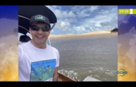 BOM DIA NEWS 14 01 2020  Ministro do Turismo visita o litoral piauiense