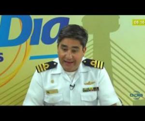 TV O Dia - BOM DIA NEWS 17 01 2020  Dante Duarte (Comte. da Capitania dos Portos do Piauí) - Aspirantex 2020