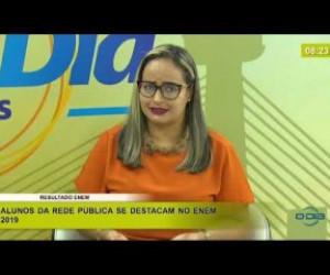 TV O Dia - BOM DIA NEWS 20 01 2020  Viviane Carvalhedo (Dir. Unidade de Mediação Tecnológica - SEDUC) - E