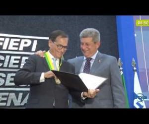 TV O Dia - BOM DIA NEWS 24 01 2020 Toma posse a nova diretoria da FIEPI