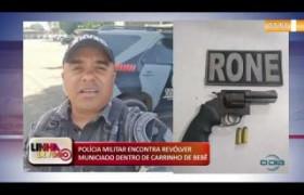 LINHA DE FOGO 13 01 2020 POLÍCIA MILITAR ENCONTRA REVÓLVER MUNICIADO DENTRO DE CARRINHO DE BEBÊ