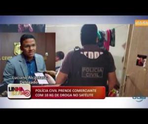 TV O Dia - LINHA DE FOGO 17 01 2020 POLÍCIA CIVIL PRENDE COMERCIANTE COM 10 KG DE DROGA NO SATÉLITE