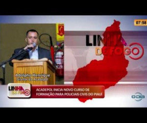 TV O Dia - LINHA DE FOGO 21 01 2020 ACADEPOL INICIA NOVO CURSO DE FORMAÇÃO PARA POLICIAIS CIVIS DO PIAUÍ