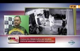 LINHA DE FOGO 24 01 2020 POLÍCIA CIVIL PRENDE DUPLA QUE ROUBOU POSTO DE GASOLINA