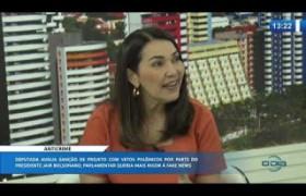 O DIA NEWS 02 01 2020  Margarete Coelho (Dep. Federal PP-PI) - Pacote anticrime